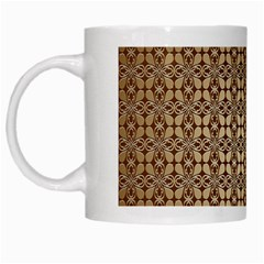 Background Seamless Repetition White Mugs