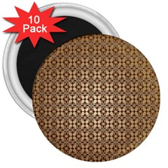 Background Seamless Repetition 3  Magnets (10 Pack)
