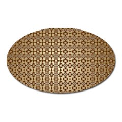 Background Seamless Repetition Oval Magnet