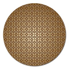 Background Seamless Repetition Magnet 5  (round)
