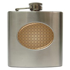Background Seamless Repetition Hip Flask (6 Oz)