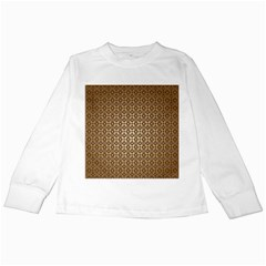 Background Seamless Repetition Kids Long Sleeve T Shirts