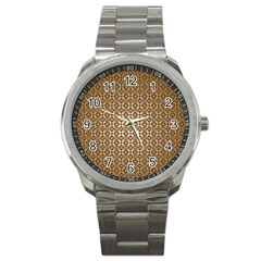 Background Seamless Repetition Sport Metal Watch