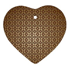Background Seamless Repetition Heart Ornament (two Sides)
