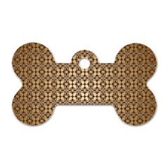 Background Seamless Repetition Dog Tag Bone (two Sides)