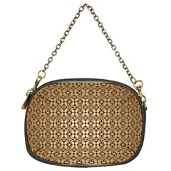 Background Seamless Repetition Chain Purses (one Side)