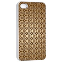 Background Seamless Repetition Apple Iphone 4/4s Seamless Case (white)