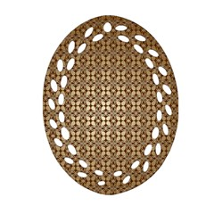 Background Seamless Repetition Oval Filigree Ornament (two Sides)