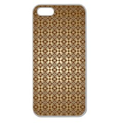 Background Seamless Repetition Apple Seamless Iphone 5 Case (clear)