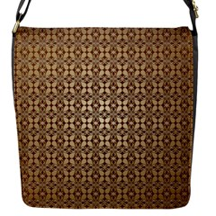 Background Seamless Repetition Flap Messenger Bag (s)