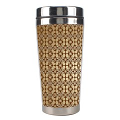 Background Seamless Repetition Stainless Steel Travel Tumblers