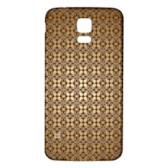 Background Seamless Repetition Samsung Galaxy S5 Back Case (white)