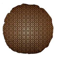 Background Seamless Repetition Large 18  Premium Flano Round Cushions