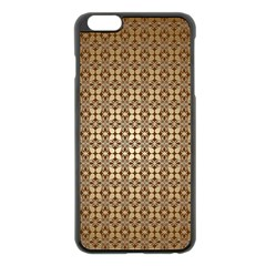 Background Seamless Repetition Apple Iphone 6 Plus/6s Plus Black Enamel Case