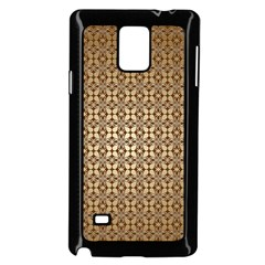 Background Seamless Repetition Samsung Galaxy Note 4 Case (black)