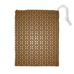 Background Seamless Repetition Drawstring Pouches (extra Large)