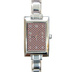 Background Pattern Texture Rectangle Italian Charm Watch