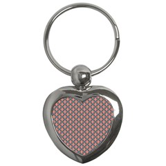 Background Pattern Texture Key Chains (heart)