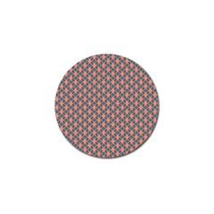 Background Pattern Texture Golf Ball Marker (4 Pack)