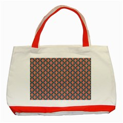 Background Pattern Texture Classic Tote Bag (red)