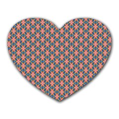 Background Pattern Texture Heart Mousepads