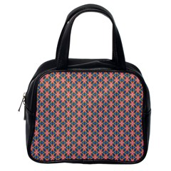 Background Pattern Texture Classic Handbags (one Side)