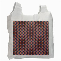 Background Pattern Texture Recycle Bag (two Side)