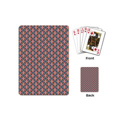 Background Pattern Texture Playing Cards (mini)