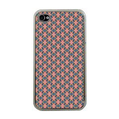 Background Pattern Texture Apple Iphone 4 Case (clear)