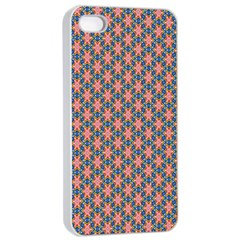 Background Pattern Texture Apple Iphone 4/4s Seamless Case (white)