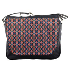Background Pattern Texture Messenger Bags