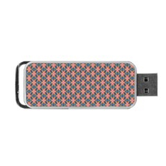 Background Pattern Texture Portable Usb Flash (one Side)
