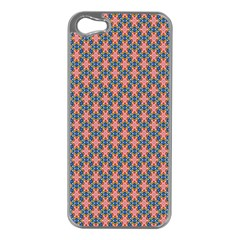 Background Pattern Texture Apple Iphone 5 Case (silver)
