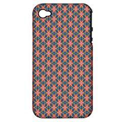 Background Pattern Texture Apple Iphone 4/4s Hardshell Case (pc+silicone)