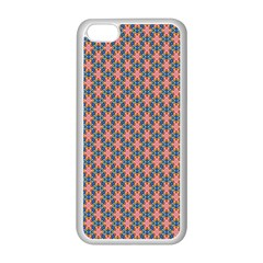 Background Pattern Texture Apple Iphone 5c Seamless Case (white)