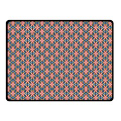 Background Pattern Texture Double Sided Fleece Blanket (small)