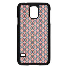 Background Pattern Texture Samsung Galaxy S5 Case (black)