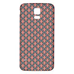 Background Pattern Texture Samsung Galaxy S5 Back Case (white)