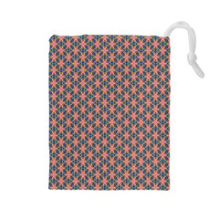 Background Pattern Texture Drawstring Pouches (large)