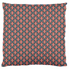 Background Pattern Texture Large Flano Cushion Case (one Side)