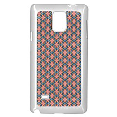 Background Pattern Texture Samsung Galaxy Note 4 Case (white)