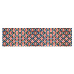 Background Pattern Texture Satin Scarf (oblong)