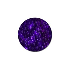 Bokeh Background Texture Stars Golf Ball Marker (4 Pack)
