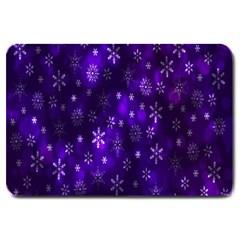 Bokeh Background Texture Stars Large Doormat