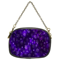 Bokeh Background Texture Stars Chain Purses (Two Sides)