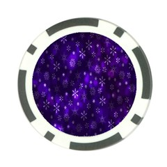 Bokeh Background Texture Stars Poker Chip Card Guard (10 Pack)