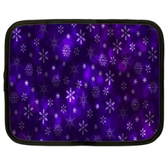 Bokeh Background Texture Stars Netbook Case (xxl)