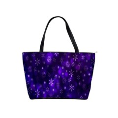 Bokeh Background Texture Stars Shoulder Handbags