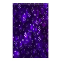 Bokeh Background Texture Stars Shower Curtain 48  X 72  (small)