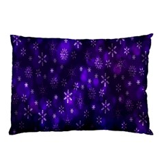 Bokeh Background Texture Stars Pillow Case (two Sides)